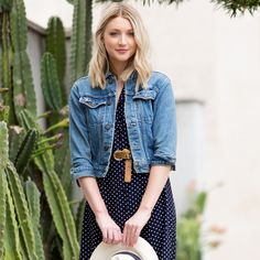 4 Chic Ways To Style Vintage Denim