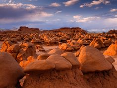 "Goblin Valley State Park, Utah (Utah's another state that you need to take your time and see all the wonderful natural attractions, nowhere else in the world, ""other than S."", will you find such an illustrious state) Goblin Valley Utah, Canon, Visit Utah, Arizona, Beautiful Nature Wallpaper, Vacation Places, Utah Vacation, Nature Photos, Travel Usa"
