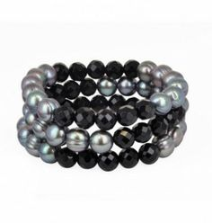 Honora: Eclipse Collection Three Strand Bracelet