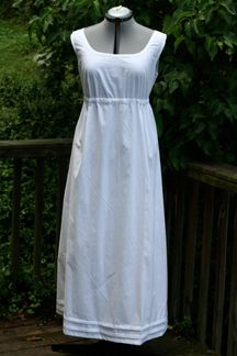 Regency Era fitted shift available through MaggieMayFashions.com
