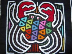 Mola Art from Panama. Mola art has its origin in body painting. Only after colonization by the Spanish and contact with missionaries did the Kuna start to transfer their traditional geometric designs on fabric, first by painting directly on the fabric and later by using the technique of reverse application. It is not known for certain when this technique was first used.