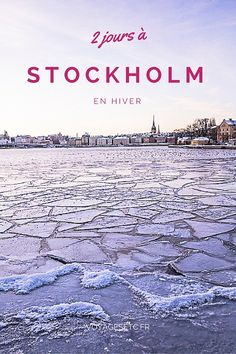 Spend two days in Stockholm, what to see? here are some ideas for a winter stay Source by voyagesetc. Week End En Europe, Road Trip Europe, Voyage Suede, Travel Around The World, Around The Worlds, North Europe, Scandinavian Countries, Sweden Travel, Voyage Europe