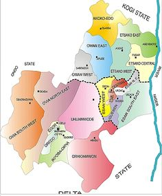 All Villages, Town and Cities in Edo state