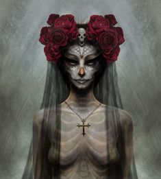 Day of the Dead Bride, by Marc Potts