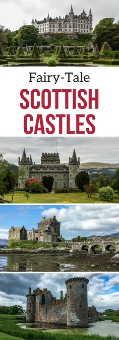 Idée et inspiration look d'été tendance 2017 Image Description Scotland Castles ! Some of them really look like they are just out of a fairy-tale… but which ones to visit? – Discover some of the best castles in Scotland with photos: www. Highlands Scotland, Scotland Castles, Scottish Castles, Scotland Travel, Scotland Trip, Scotish Highlands, Best Of Scotland, Visiting Scotland, Scotland Food