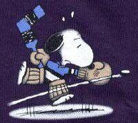 Snoopy Ice Hockey - Hockey Goalie