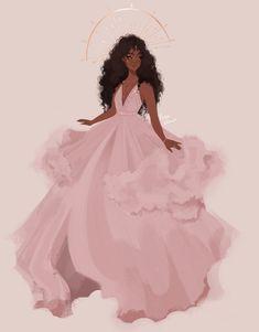 20 Ideas For Black Art Afro Illustrations Black Love Art, Black Girl Art, Black Girl Magic, Black Girls Drawing, Pretty Art, Cute Art, Bd Art, Mode Poster, Black Girl Cartoon