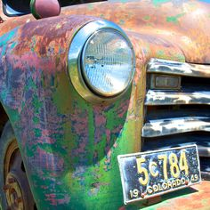 Colorful and Rusty