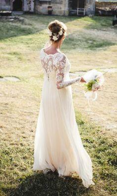 Weddingdress wedding vintage bohem lace