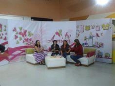 """Entrevista """"Programa TvAmiga, en la ciudad de Cochabamba, previo al comienzo de la Feria Internacional en Cochabamba """"Feicobol"""""""