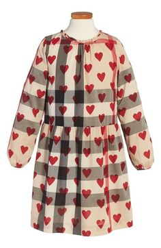 Burberry 'Philippa' Check Dress (Little Girls & Big Girls) available at #Nordstrom