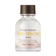 Bee Venom Spot Treatment by Nature Republic Korean Skin care ingredients
