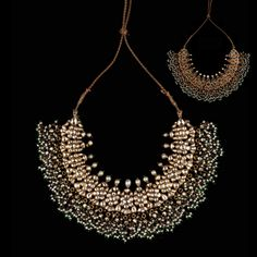 A Diamond And Pearl Necklace, Jaipur 19th Century www.ollemans.com