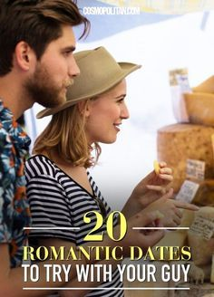 If the last date night you had with your guy involved sweatpants and the DVR, it's time to shake things up. For inspiration, check out these expert-approved date ideas, guaranteed to dial up the romance.