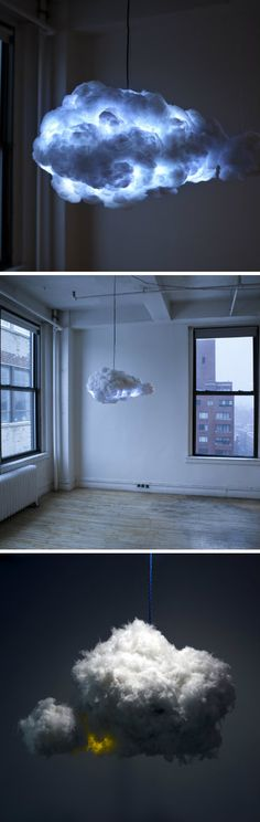 DIY Projects: This Lamp Creates A Thunderstorm In Your Living Ro...
