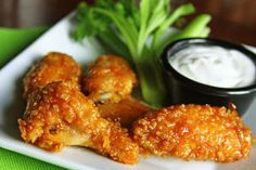 Our Version of Winger's Wings is a really great copycat recipe of a tasty dish. The sauce uses just three ingredients, which means it's an easy appetizer recipe.