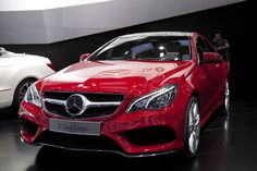 E Class Coupe l Red hot