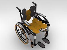 Concepto ajustable de silla de ruedas http://cimetec.blogspot.com/2012/03/concepto-ajustable-de-silla-de-ruedas.html