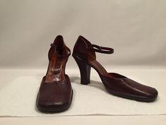 VIntage BCBG Max Azria Leather MARY JANE Heels w/ Ankle Strap Ladies Sz 10B Sexy #BCBGMAXAZRIA #AnkleStrap