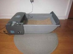smartscoop automated litter box   http://www.thehappylitterbox.com/2012/01/my-take-on-smart-scoop-automatic-litter-box/