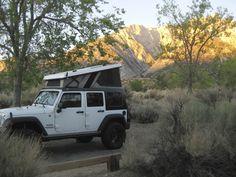 Ursa Minor Pop-Top Jeep JK - Expedition Portal