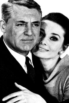Audrey Hepburn and Cary Grant photographed for Charade, 1963