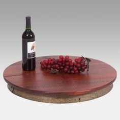 2 Day Designs Reclaimed Wine2Night 23 inch Lazy Susan. $89.98.