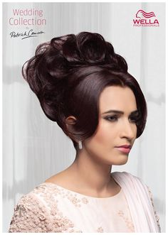This festive season, pamper your tresses with the latest wedding looks from Wella Professionals At Tress Lounge  #TressLounge #chandigarh #salon #hairstyles #wella #bridal #wedding