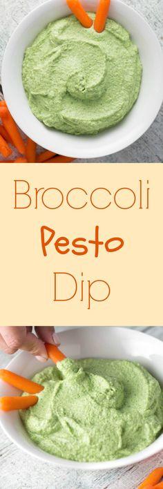 Broccoli Pesto Dip for the win! |Krollskorner.com