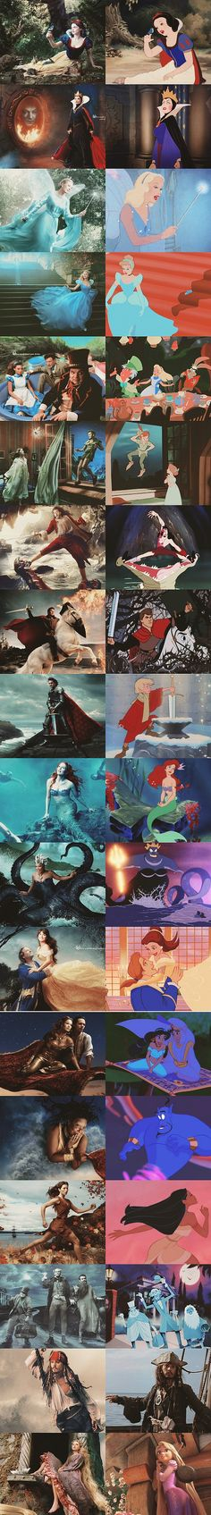 Annie Leibovitz's Disney Dream Portraits I like how Johnny Deep is playing captain jack sparrow