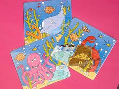 Sealife Jigsaw Puzzle #allaboutpartybags #kids #sealife #jigsawpuzzle