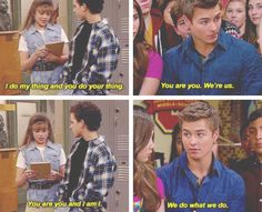 BMW/GMW. OMG! Lucas is Topanga! Just like Riley is Cory and Maya is Shawn, Lucas is Topanga!