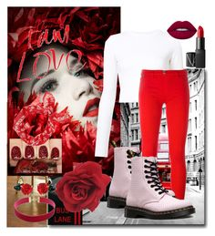 """""""Reed ✔👑"""" by amalia-ammi ❤ liked on Polyvore featuring Improvements, Proenza Schouler, Love Moschino, Dr. Martens, NARS Cosmetics, Lime Crime and rag & bone"""