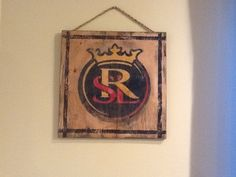 Real Madrid hand painted sign