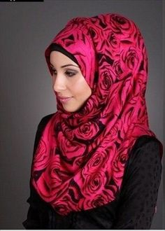 Young And Colorful Muslim Teen Girl Hijab