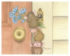 Mudpie, Amanda & Maxwell from House-Mouse Designs®. Click on the image to see all of the very mice products that this image is available on.