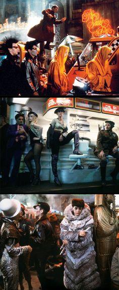 Ridley Scott's 'Blade Runner'(1982). Costume Designer: Michael Kaplan.