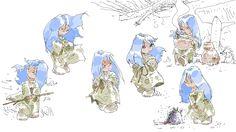 bocetos Balbina