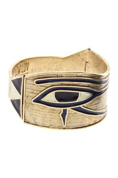 Egyptian Eye Cuff