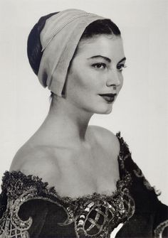 Ava Gardner by Man Ray (1950)