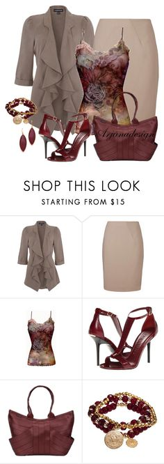 """""""Happy Hour Friday"""" by arjanadesign ❤ liked on Polyvore featuring L.K.Bennett, Burberry, Bee Charming and Chan Luu"""