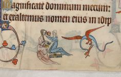 Советы по поводу причёски на полях Luttrell Psalter     Tips for #medieval hairstyles in the margins of the Luttrell Psalter http://www.bl.uk/manuscripts/Viewer.aspx?ref=add_ms_42130_f063r