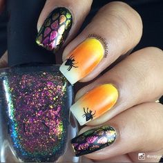How awesome is this mani by @crazypolishes1?! She was inspired by…