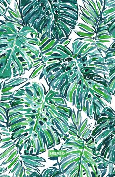 Barbarian is known for botanical prints with a coastal and tropical vibe. Green jungle prints and lush florals abound. Leaves Wallpaper Iphone, Plant Wallpaper, Leaf Quotes, Leaf Prints, Art Prints, Jungle Vibes, Scrapbook Background, Plant Background, Leaf Art