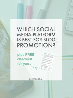 Which Social Media Platform Is Best For Blog Promotion | There are so many ways of promoting your blog on social media but which is the best platform? Facebook? Twitter? Pinterest? Click through to find out!