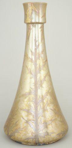 Vase Clément Massier  (ca. 1845–1917) Date: ca. 1900 Culture: French (Golfe-Juan) Medium: Earthenware