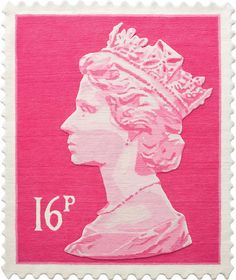 Queen Elizabeth II Stamp Rugs: I really like these, but not to the tune of 700 pounds