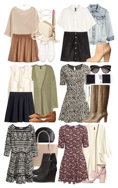 Lydia Inspired H&M Outfits by veterization on Polyvore featuring polyvore, fashion, style, H&M and clothing