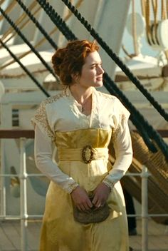 Given that Titanic's a classic film, I think Rose is something of a legendary romantic heroine. | Titanic