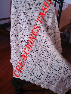 1000 images about colchas tejidas on pinterest bebe - Colchas tejidas a crochet ...